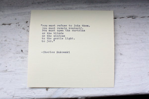 Charles Bukowski Quotes HD Wallpaper 8