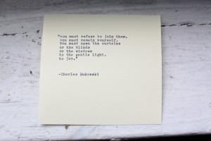 Charles Bukowski Quotes HD Wallpaper 8
