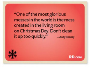 Andy Rooney with a Christmas Quote