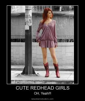 Cute redhead girl - stunning