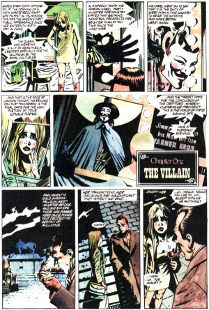 for Vendetta, by Alan Moore and David Lloyd, opens with the ...