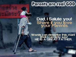 parents love quotes-dad-god-father