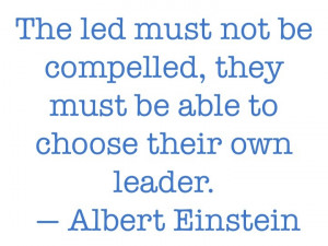 Leadership Quote from Albert Einstein