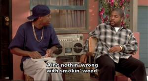 Ice Cube Friday smokey