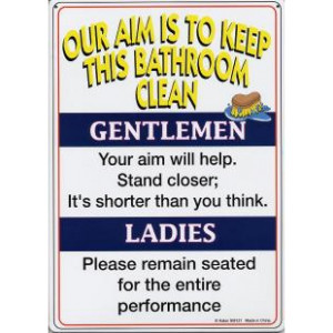 Keep Bathroom Clean Wall Quotes And Sayings Vinyl Graphic Word Funny ...