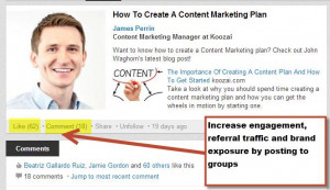 Using LinkedIn For Content Marketing