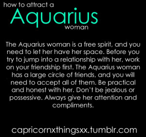Aquarius Woman In Love