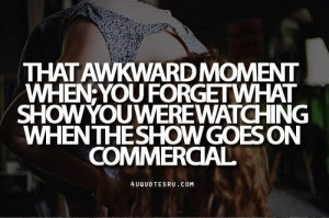 Awkward show love quotes