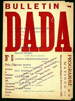 dada or dadaism was an art movement of the european