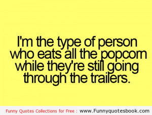 Funny quotes while watching movies with Friends