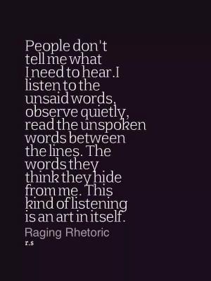 Quiet Quotes, Body Language Quotes, Listening Quotes, Introvert Quotes ...