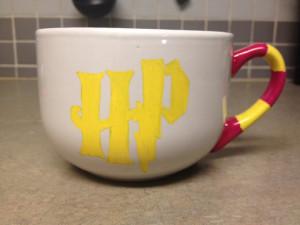 Harry Potter Mischief Managed Quote Gryffindor Coffee Mug. $15.00, via ...