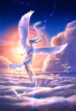 Angels are watching over YOU, Sweetie! Love Ya!