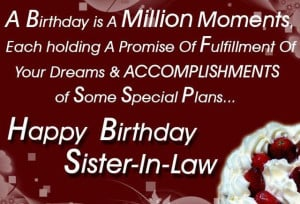 happy birthday quotes for sister in law