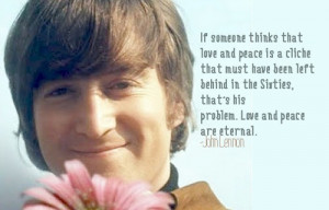 John lennon, quotes, sayings, love, peace, the beatles
