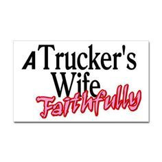 Truckers Wife Quotes | Proud Truckers Wife necklace - silver - hand ...