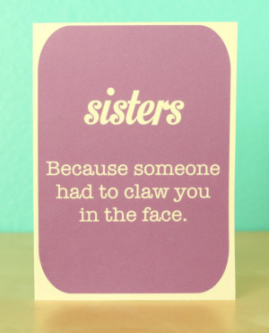Funny and Slightly Annoying Birthday Cards for Siblings