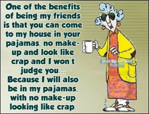 Maxine benefit of friendship