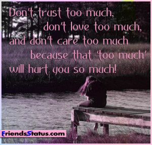 Sad Quotes Fb Status ~ Sad fb status hurt you so much