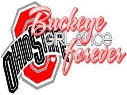 Ohio state buckeye girl