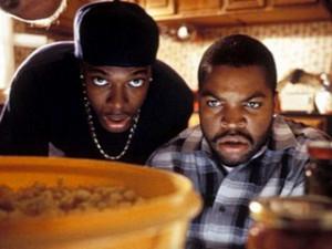 Smokey (Chris Tucker) and Craig ( Ice Cube )