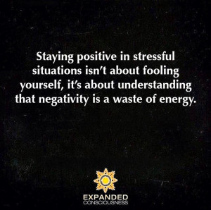 Staying Positive in Stressful Situations Isn't About Fooling Yourself ...