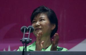Park Geun Hye South Korean President Park Geun Hye attends during the
