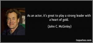 More John C. McGinley Quotes