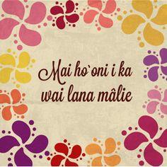 ... Hawaiian Quotes, News, Hawaiian Word Tattoos, Islands, Blog, Life