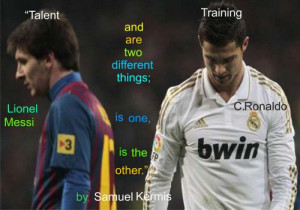 Messi Vs Ronaldo Funny Quotes