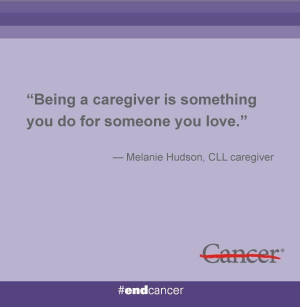 been both a patient and caregiver to her husband, a #leukemia patient ...