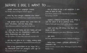 Before I Die Quotes