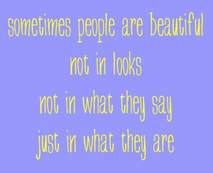 being beautiful inside and out quotes - Bing Images