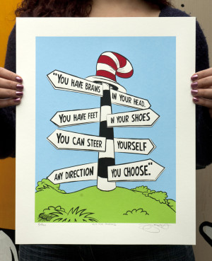 Dr Seuss Quotes Green Eggs And Ham Another print based on a quote