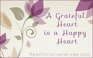 Grateful Heart is a Happy Heart