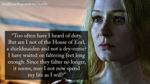 Eowyn Quotes Book