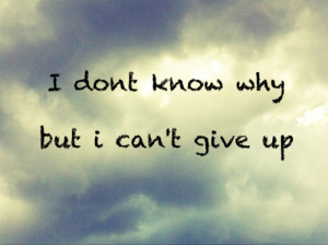 maybe i'm dreaming .: do not stop hoping and not give up :)