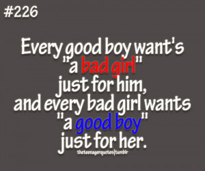... popular tags for this image include: quote, bad, boy, girl and good