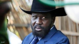 Salva Kiir Mayardit, current president of south sudan is in the lead ...