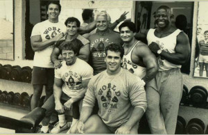... Eddie Giulliani, Joe Gold, Bob Paris, Danny Padilla, and Jim Morris