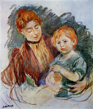Berthe Morisot ~ French Impressionist painter
