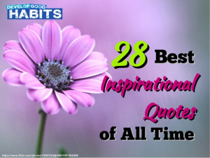 28 Best Inspirational Quotes of All Time