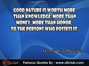 You Are Currently Browsing 15 Most Famous Quotes By Henry Ward Beecher