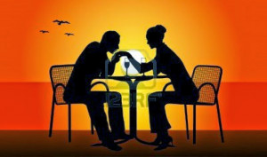 Kis of hand Sunset Picture Bird Love of Romantic Image
