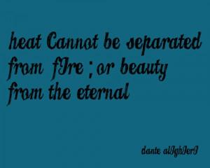 Quote – Dante Alighieri