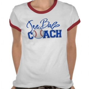 Tee Ball Coach Shirt