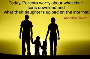 Bad Parenting Quotes Sayings Today, parents worry about