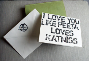 katniss everdeen, love, peeta mellark, the hunger games