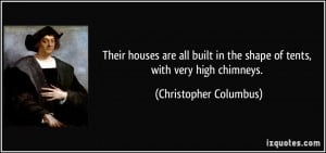 More Christopher Columbus Quotes