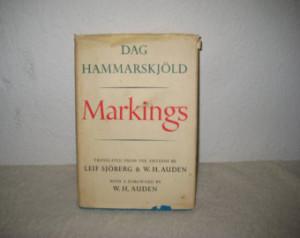 Markings by Dag Hammarskjöld, publi shed 1964 ...